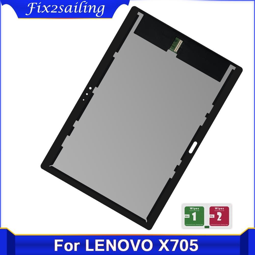 Для Lenovo Tab P10 Tab5 10 Plus TB-X705 X705L X705F X705N ЖК-дисплей сенсорный экран дигитайзер + Бесплатный подарок