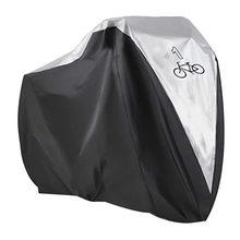Capa de bicicleta ao ar livre à prova ddustágua dustproof portátil dobrável capa de armazenamento de bicicleta manga protetora preto sliver novo #32