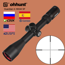 ohhunt Guardian 4-16X44 SF Huting Rifle Scope Tactical Optical Sight Wire Reticle 1/2 Half Mil Dot with Side Parallax Adjustment
