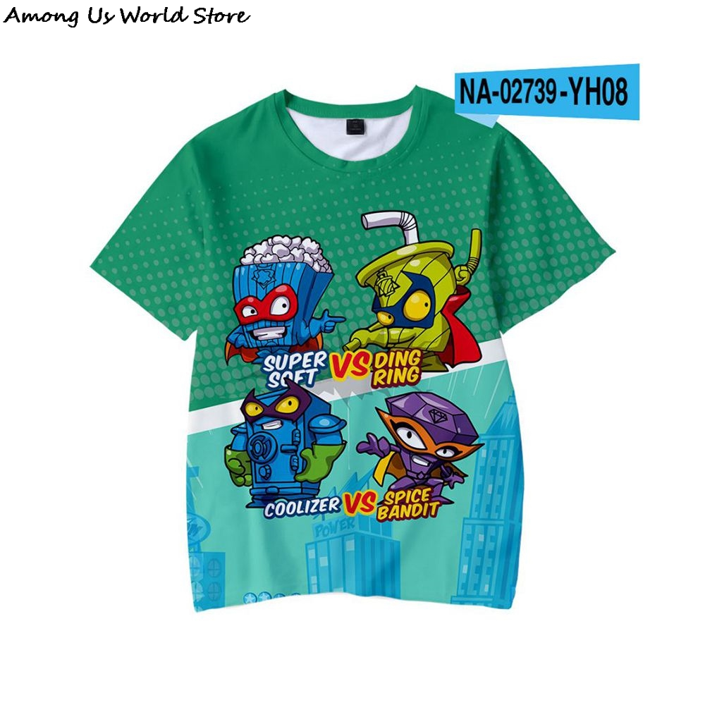 Meninos super zings sonic impressão roupas bebê 3d engraçado t-shirts crianças superzings roupas meninos gráficos camisetas anime entre eboy