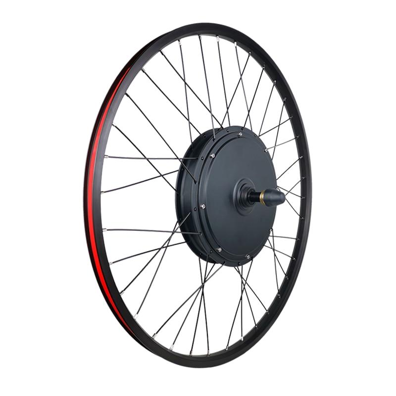 48V 1500W 1000W Elektrische Fahrrad Motor Rad eBike Conversion Kit 26 zoll mit LCD3/LCD8 Display hinten Hub Motor