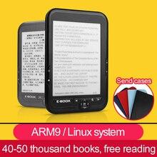 CLATE 4/8/16G E-ink электронная книга Linux чтения электронных книг 3,5 мм наушников Eink Экран электронная книга E-считыватель штрих-кода с Чехол MP3, WMA, PDF HTML