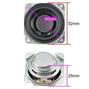 Image 3 - GHXAMP 2 inch Full Range Speaker 8ohm 10W Neodymium Bluetooth Speaker DIY 52mm Full Frequency Loudspeaker Rubber Edge 2PCS