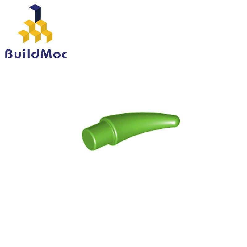 BuildMOC Kompatibel untuk Lego53451 Barb/Cakar/Horn-Kecil untuk Bangunan Blok Bagian DIY Pendidikan Kreatif Hadiah Mainan