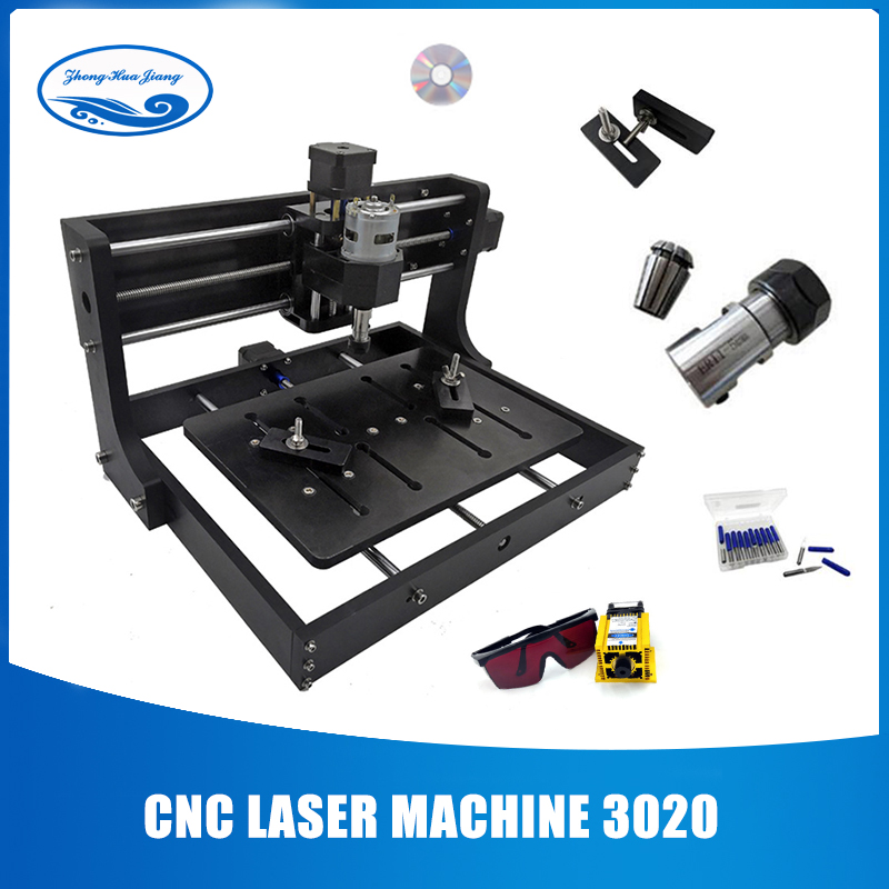 CNC 3020 Laser Engraver MachineGRBL Control Diy Wood CNC Router Machine For Pcb Wood Router Craved On Metal With Offline Control
