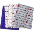 Сердцебиение в стиле пэчворк из хлопково-полиэстеровой ткани с принтом ткань для шитья стеганые ткани рукоделие Материал