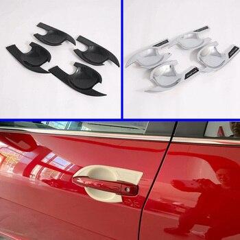 Para Nissan Sylphy B18 Sentra 2019 2020 accesorios para el coche manija de la puerta cubierta del Tazón de la taza de la cavidad ajuste de la inserción de la captura de la guarnición