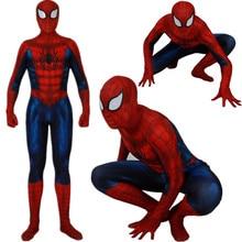 Adult Kids Spider-Man Ultimate Alliance Cosplay Costume Zentai Superhero Spiderman Bodysuit Suit Jumpsuits Halloween