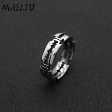 Anel de aço inoxidável anel de lâmina de aço inoxidável anel de aço inoxidável anel de lâmina de titânio exagerado