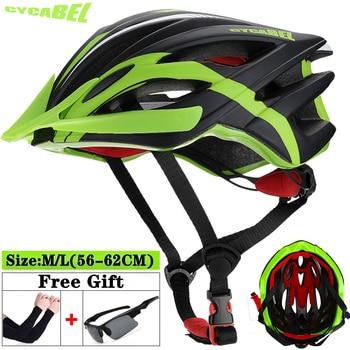 Cycabel capacete de bicicleta ciclismo seguro chapéu in-mold estrada mountain bike capacete ultraleve mtb todo o terreno esporte equitação ciclismo capacete 1