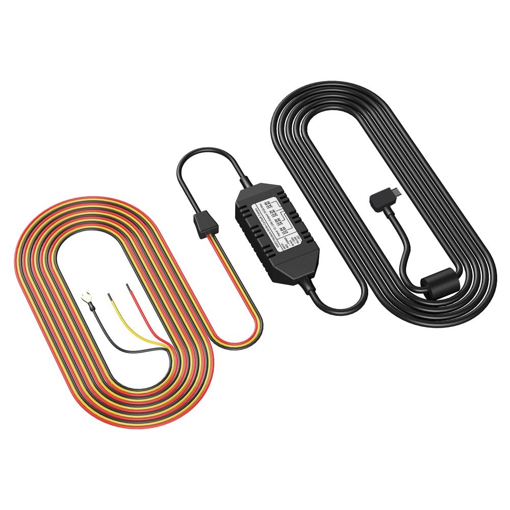 HK3 A129 Автомобильная камера 3 провода ACC HARDWIRE комплект кабель для режима парковки