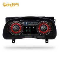Android 12.3 Car LCD instrument panel screen Car GPS Navigation For Toyota Highlander 2015 2019 dash Multimedia player stereo