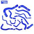 Набор силиконовых турбоохладителей для Honda civic EP3 type R K20A2 (13 шт./компл.)