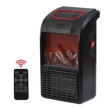 Mini Heater Home Desktop Portable Heater Wall-mounted Heater Fan Simulated Fireplace European Standard Heat Preservation