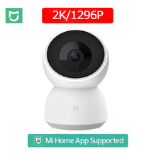 كاميرا ذكية 2K جديدة من شاومي 1296P كاميرا عالية الدقة بزاوية 360 درجة واي فاي كاميرا للرؤية الليلية بالأشعة تحت الحمراء كاميرا فيديو مراقبة أمن الطفل Mihome
