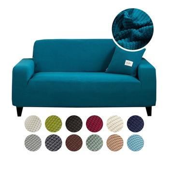Funda de sofá para sala de estar, funda de sofá, fundas elásticas, funda para sillón de 4 tamaños