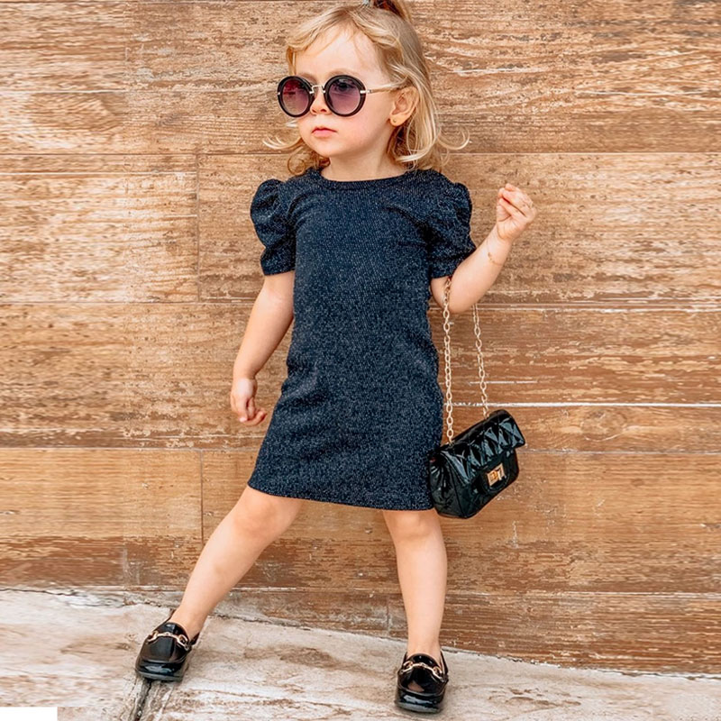 1-6Y Toddler Baby Kid Girls Dress Short Sleeve Party Dress For Girls Summer Kid Children Costumes