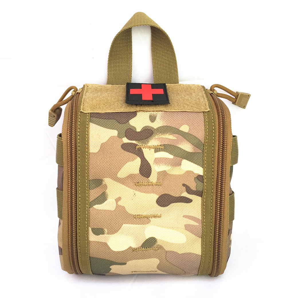 Outdoor Supplies Tactical Molle Accessories First Aid Kit Medical Care Storage Wallet Multi-functional Red Cross Chapter Medical