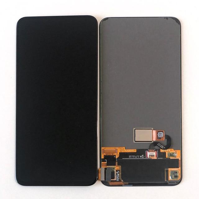 "6.39 ""orijinal Amoled M & Sen Huawei onur sihirli için 2 LCD ekran ekran ile parmak izi + dokunmatik Panel digitizer onur sihirli 2"