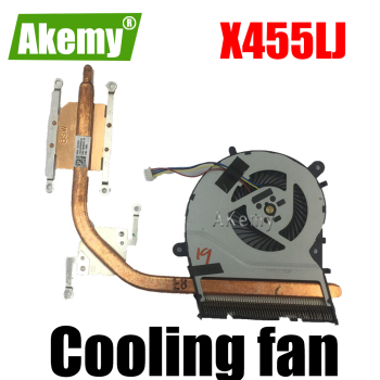 New Original CPU Cooling heatsink Fan For Asus X455LJ A455L K455L F455L W491L Y483LD X455LF X455LB fan Cooler image