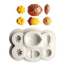 Новые гайки форма DIY помадка торт шоколадный Декор силиконовая форма для выпечки кухонный инструмент из силикона форма для украшения торта инструменты форма для торта