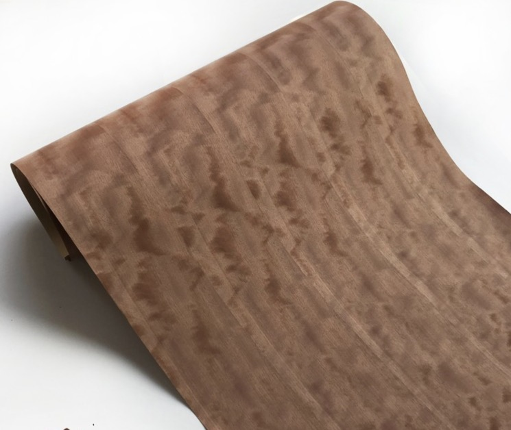L:2.5meters Width:55cm Technology Natural Splicing McGee Block Shadow Wood Veneer (back Non Woven Fabric)