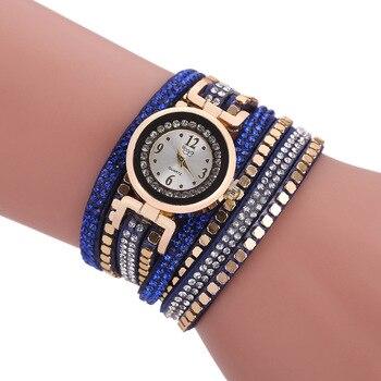 цена на 2020 Sloggi Brand Bracelet Dress Watches Women Fashion Fabric Strap Ladies Quartz Wrist Watch Vintage Clock Reloj Mujer Relogio