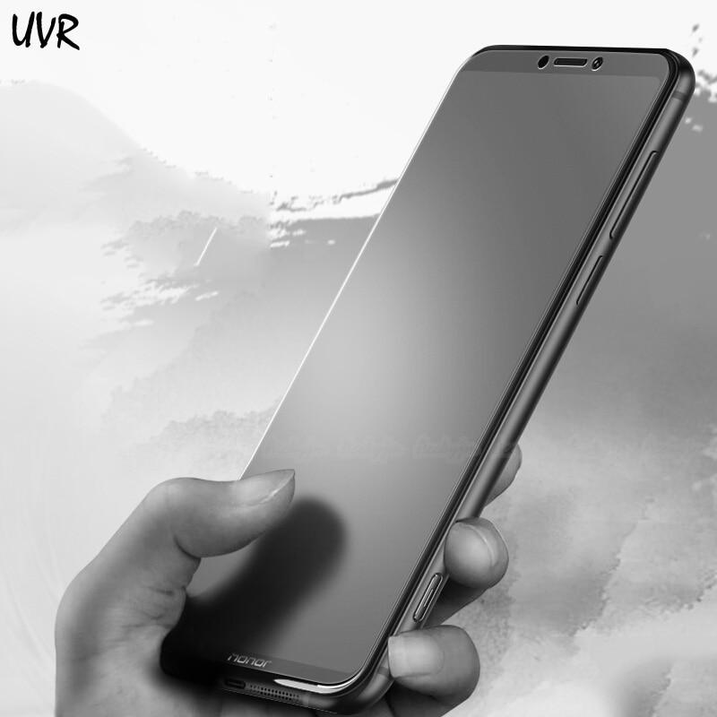 Huawei Honor 10 10i 9 9i 9N 8 Lite Matte Frosted Tempered Glass Anti Fingerprint Honor Note 10 V10 V9 Magic 2 Screen Protector(China)