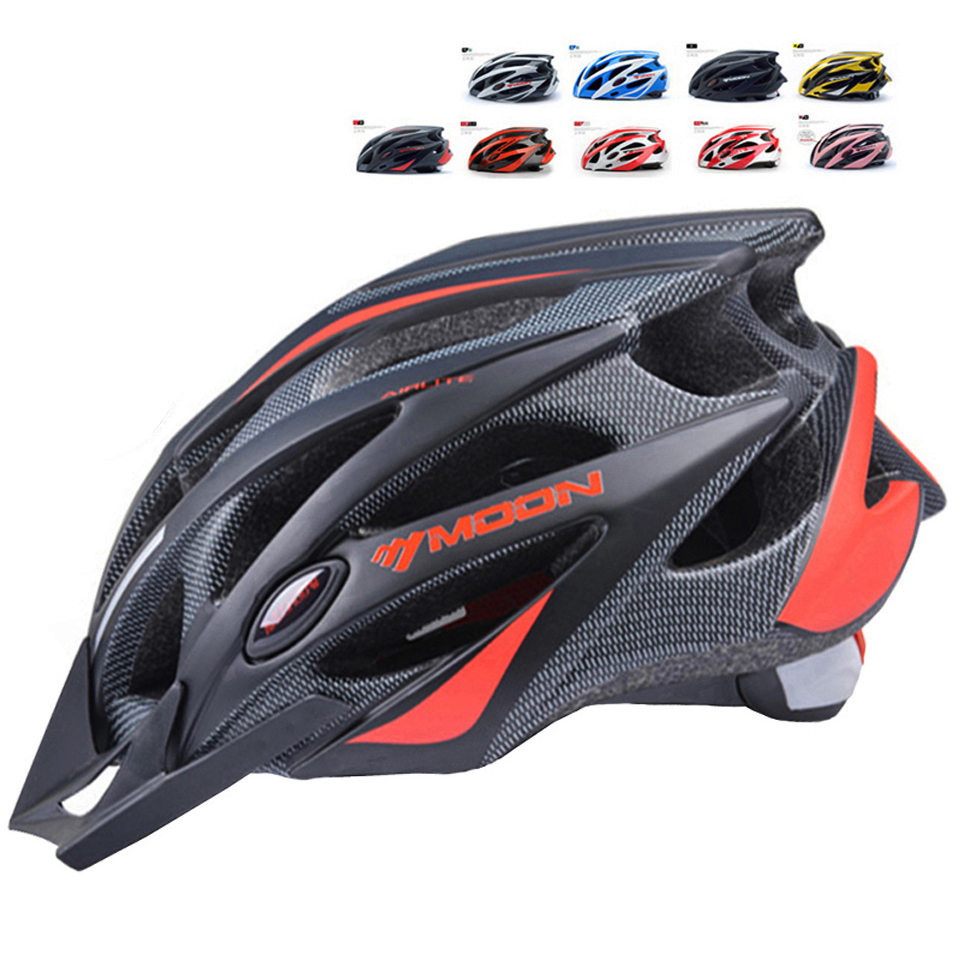MOON Bike Helmet Ultralight MTB In-Mold Road Casco-Ciclismo title=