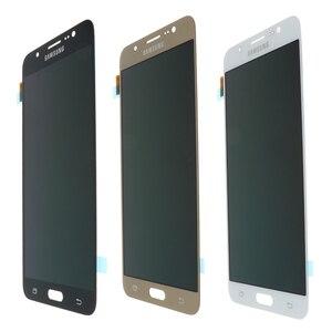 Image 2 - Original 5.5 Super Amoled LCD สำหรับ Samsung Galaxy J7 2016 J710 J710F J710M J710G จอแสดงผล LCD Touch Screen Digitizer เปลี่ยน