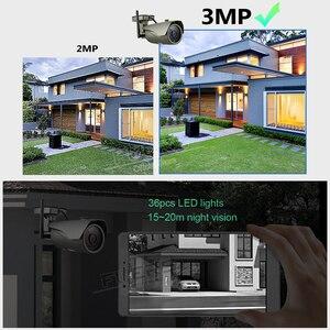 Image 2 - FUERS WIFI IP Camera FHD 3MP CCTV Camera H.265 P2P IP67 Waterproof Outdoor Indoor Motion Detection Metal Camera Onvif AP Hotspot