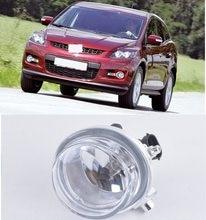 CAPQX faros antiniebla con bombilla para Mazda 3 Mazda 5 Mazda Axela 6 CX-7 CX-5 luz antiniebla del parachoques delantero de conducción Lampr Luz de niebla