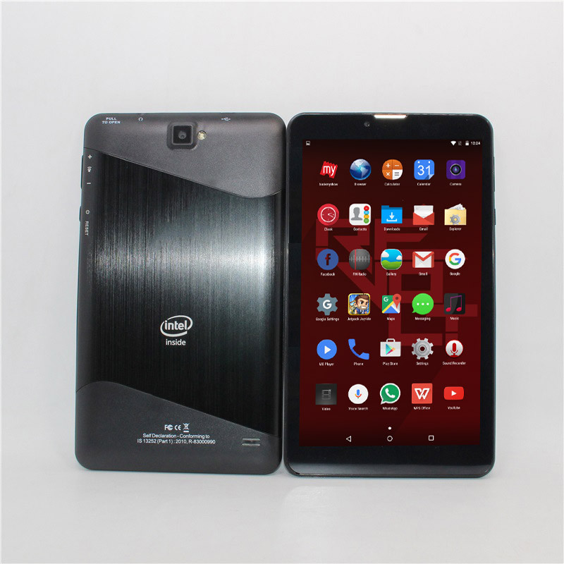 New Arrival 7 Inch 3G Phone Call Intel Android 5.1 Quad Core Dual SIM Card Dual Cameras Wifi IPS 1GB/8GB  TX1