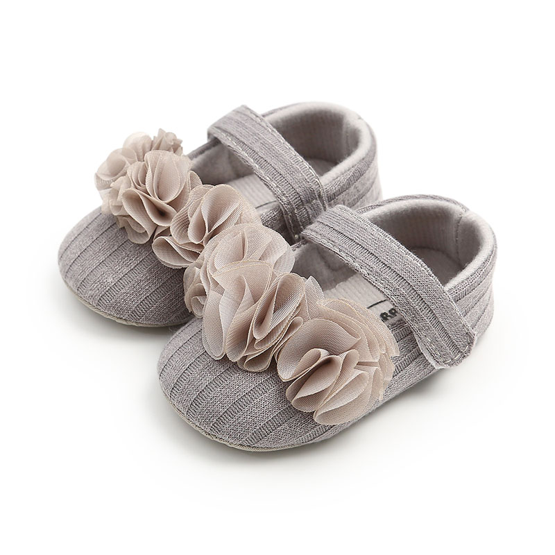 Baby Boots Infant Newborn Girls Boys Cotton Anti-slip Outdoor Shoes First Walkers Shoes Booties Solid Rubber Baby Girl Shoes