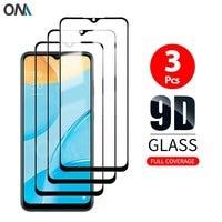 Protector de pantalla de vidrio templado para OPPO A3, A5, A7, A7x, A8, A9, A91, A11, A15, Protección de cobertura total prémium