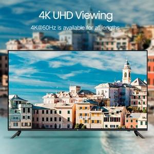 Image 2 - Ugreen hdmi 2.0 cabo de comprimento total 4k 60hz hdmi para hdmi para ps4 apple tv splitter switch cabo de vídeo hdmi