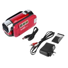 Mini Portable 2.7 Inch Digital Video Camera Camcorder TFT LCD Screen Full HD 16x