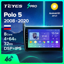 Teyes Spro Voor Volkswagen Vw Polo Sedan 2008 2015 Auto Radio Multimedia Video Player Navigatie Gps Android(China)