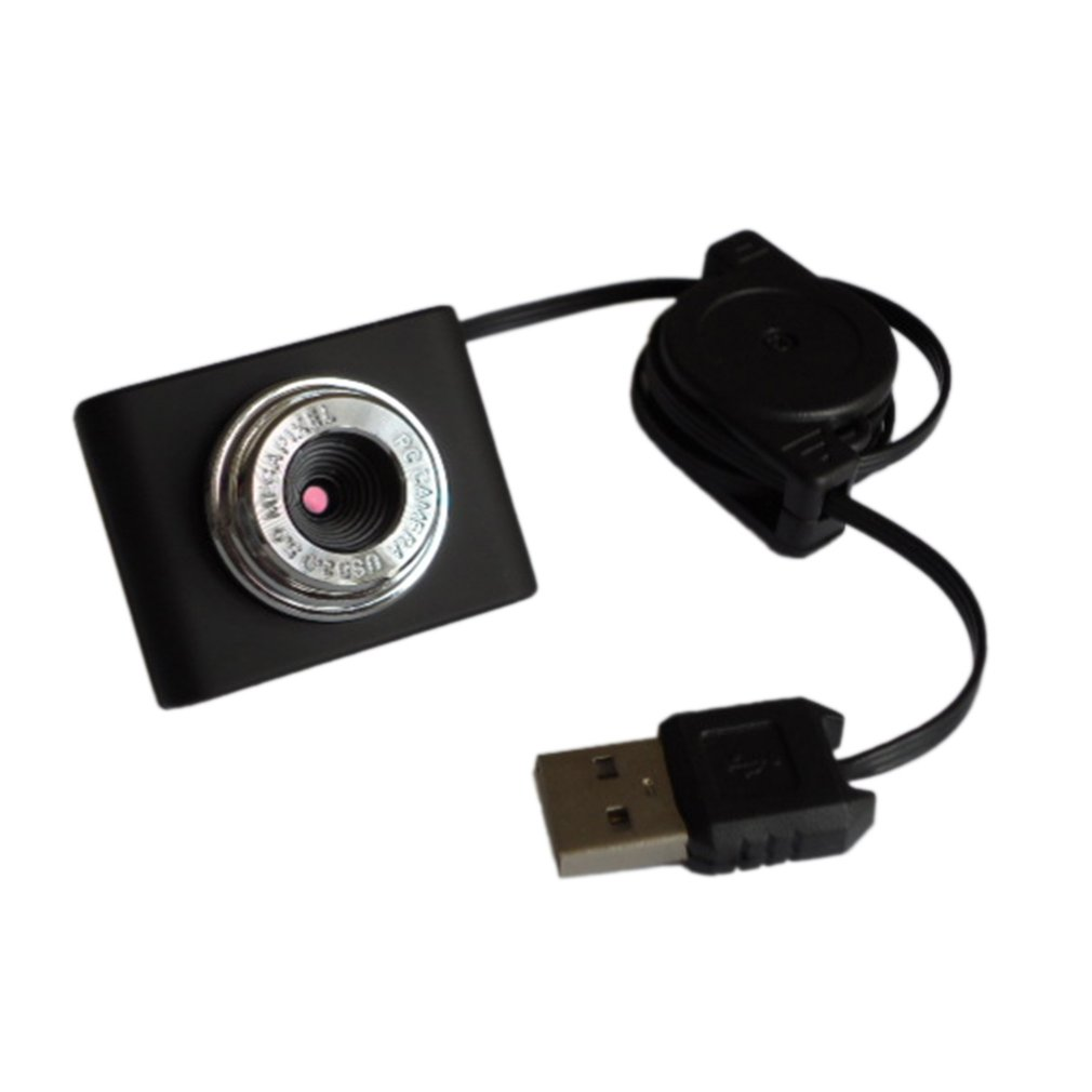 8 Million Pixels Mini Webcam HD Web Computer Camera with Microphone for Desktop Laptop USB Plug and Play for Video Calling