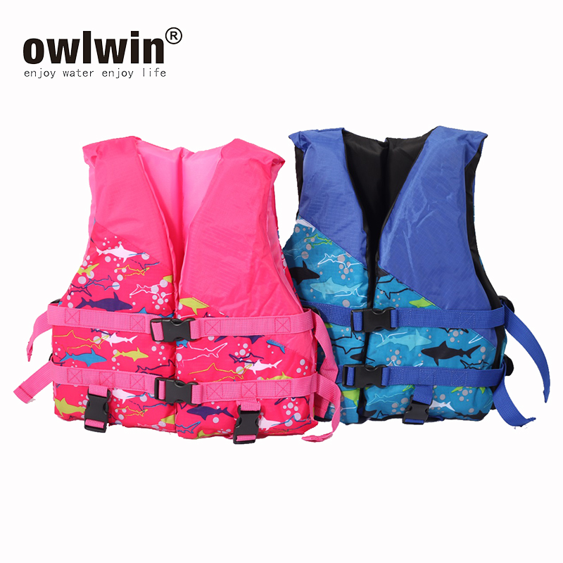 Swimming Life Jacket Portable Boating Surfing Buoyancy Aid Vest Adult Kids