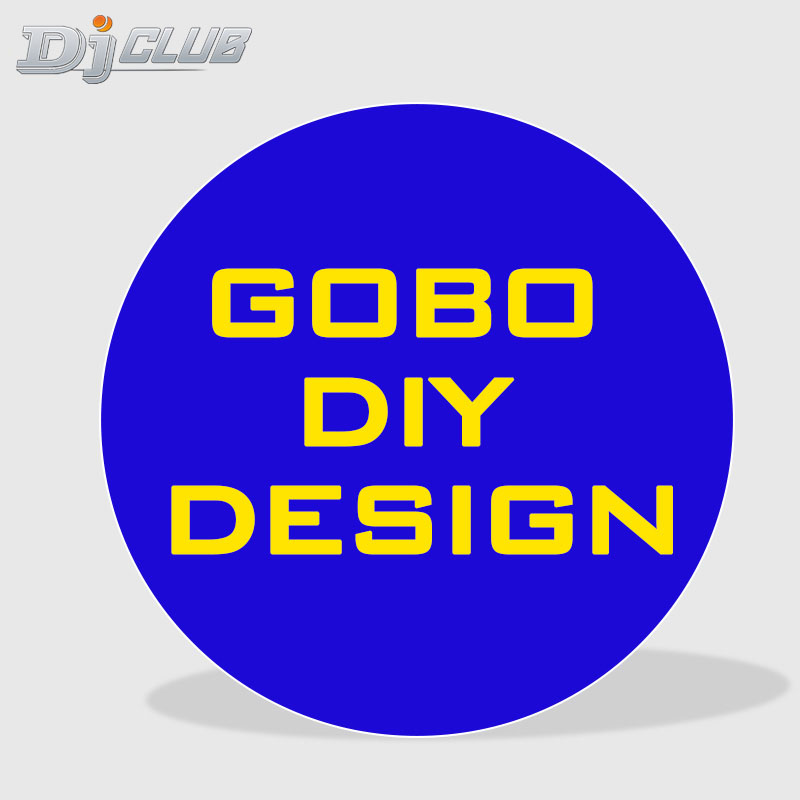 Diy Gobo Logo Design For Logo Projector Led Light Stage Lighting Effect Aliexpress