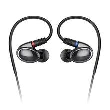 Nueva llegada FiiO FH1 armadura equilibrada dinámico auricular híbrido, FiiO Eaprhone FH1 (tiene cupón)