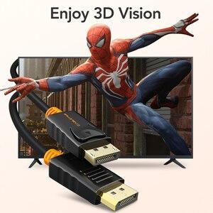 Image 4 - Cáp DisplayPort To DisplayPort 144Hz Màn Hình Cổng Cáp 1.2 4K 60Hz DP Vedio DisplayPort To DisplayPort Cáp HDTV máy Chiếu Máy Tính C071