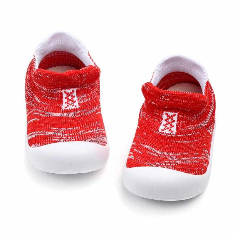 קיץ מגניב תינוק ילדה ילד אנטי להחליק עיצוב סניקרס פעוט רך הסוליות הראשונה הליכונים נעלי חדש Hvlv