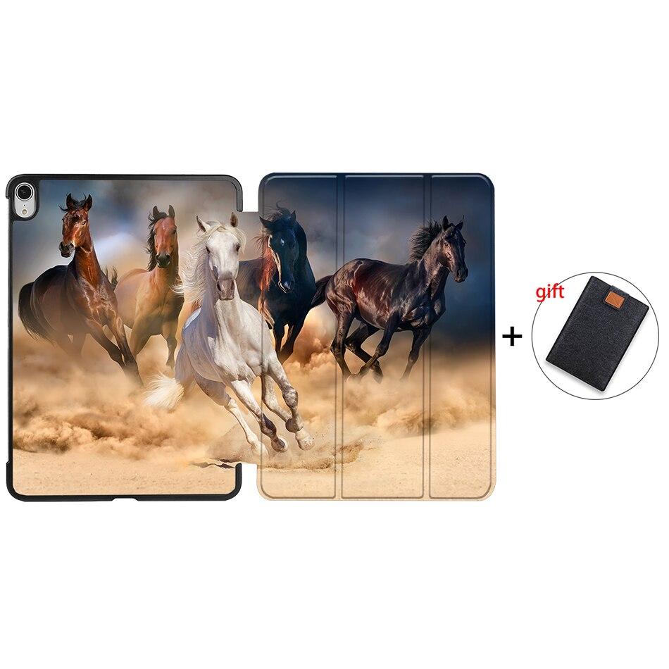IP19 MULTI MTT Tablet Case For iPad Air 4th Generation 10 9 inch 2020 PU Leather Folio Flip