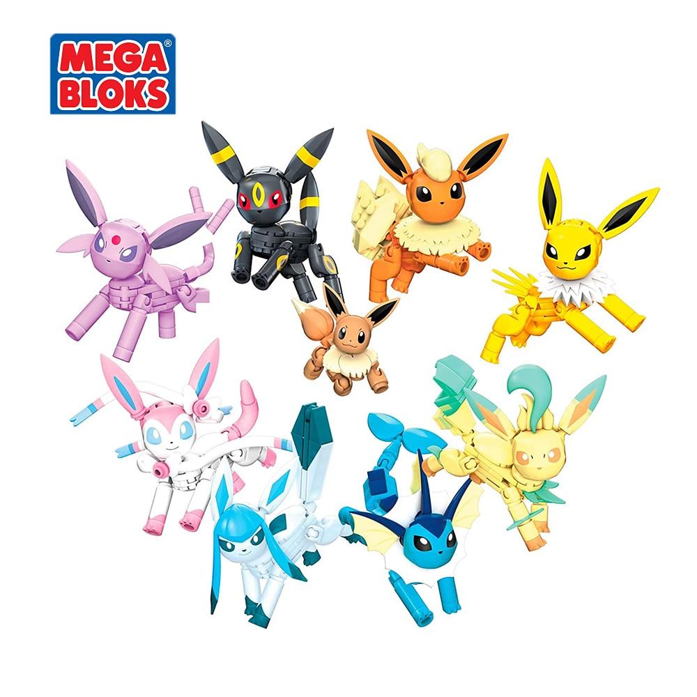 MEGA BLOKS Building Blocks Toy Pokemon Series Ibrahimovic Evolution Set Small Block Toy Set Kids Toys Christmas Gift GFV85 2