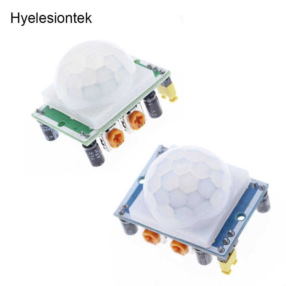 Infrared Pir Sensor HC-SR501 For Arduino Movement Pir IR Sensor Detector Module Board Light Motion Sensors IR Switch Infrared