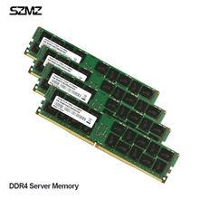 Memoria de servidor DDR4, 32GB, 8GB, 16GB, 4GB, 2400, 2133MHz, ECC, REG, compatible con juego de placa base X99