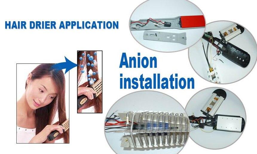 35 шт./лот сделать волосы здоровыми TRUMPXP TFB-27 ионизатор воздуха для дома Бытовая техника части