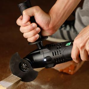 Image 5 - LOMVUM Power Erneuerer Cordless Oszillierende 12V/21V Holzbearbeitung Werkzeuge DIY Home Oszillator Multi Cutter Elektrische Trimmer Klinge